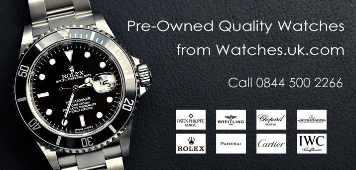 watches including Rolex watches, Cartier watches and Breitling watches